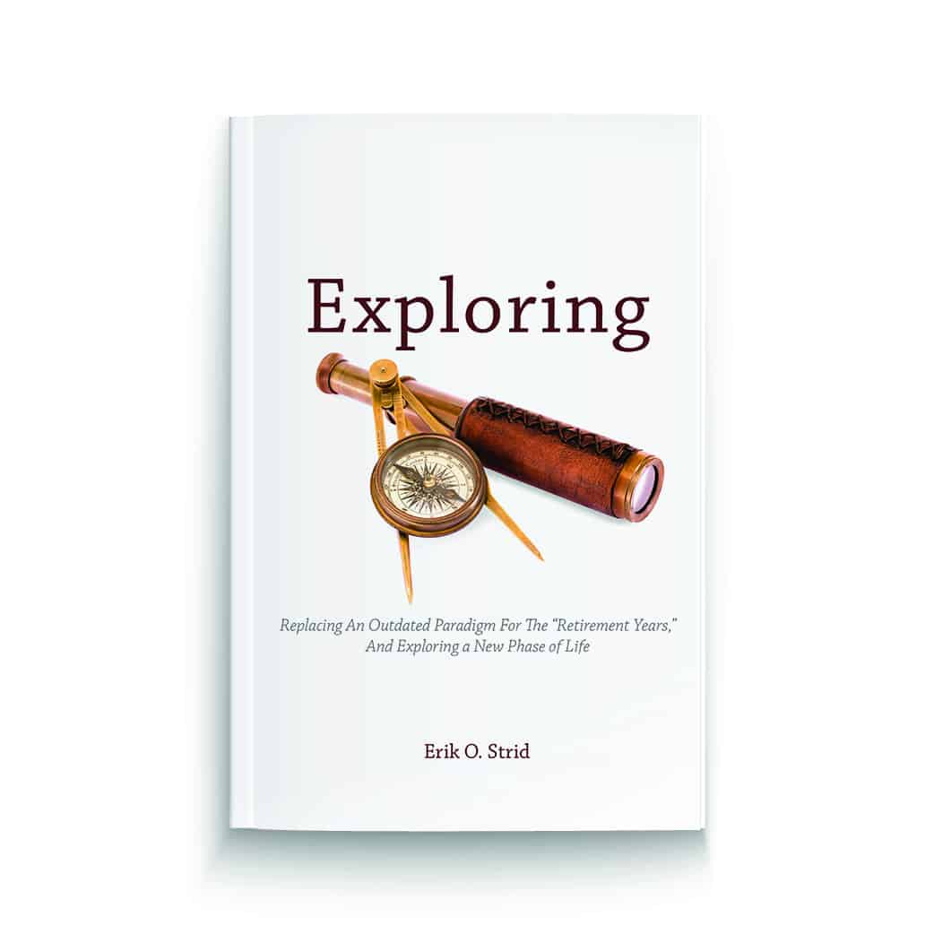 Erik Strid's third book, Exploring, is now available